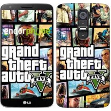 Чехол для LG G2 GTA 5. Collage 630u-37