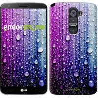 Чехол для LG G2 Капли воды 3351u-37