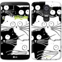Чехол для LG G2 Коты v2 3565u-37