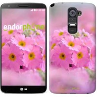Чехол для LG G2 Розовая примула 508u-37