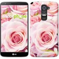 Чехол для LG G2 Розы 525u-37