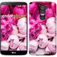 Чехол для LG G2 Розовые пионы 2747u-37