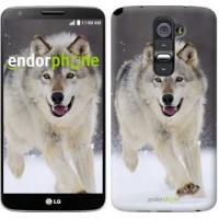 Чехол для LG G2 Бегущий волк 826u-37