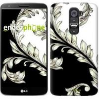Чехол для LG G2 White and black 1 2805u-37