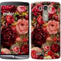 Чехол для LG G3 D855 Цветущие розы 2701c-47