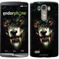 Чехол для LG G3 D855 Дьявольский волк 833c-47