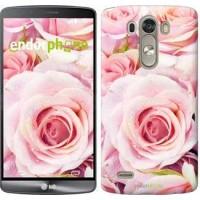 Чехол для LG G3 D855 Розы 525c-47