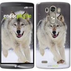 Чехол для LG G3 D855 Бегущий волк 826c-47