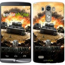 Чехол для LG G3 D855 World of tanks v1 834c-47