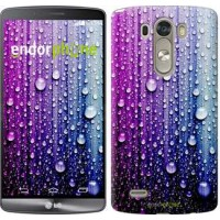 Чехол для LG G3 dual D856 Капли воды 3351c-56