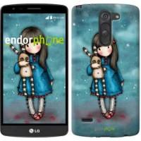 Чехол для LG G3 Stylus D690 Девочка с зайчиком 915m-89