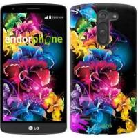 Чехол для LG G3 Stylus D690 Абстрактные цветы 511m-89