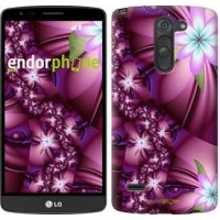 Чехол для LG G3 Stylus D690 Цветочная мозаика 1961m-89
