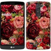 Чехол для LG G3 Stylus D690 Цветущие розы 2701m-89