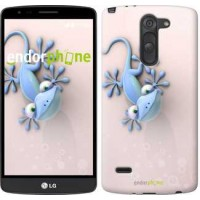 Чехол для LG G3 Stylus D690 Гекончик 1094m-89