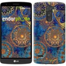Чехол для LG G3 Stylus D690 Золотой узор 678m-89