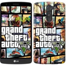 Чехол для LG G3 Stylus D690 GTA 5. Collage 630m-89