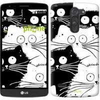 Чехол для LG G3 Stylus D690 Коты v2 3565m-89