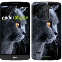 Чехол для LG G3 Stylus D690 Красивый кот 3038m-89
