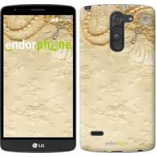 Чехол для LG G3 Stylus D690 Кружевной орнамент 2160m-89