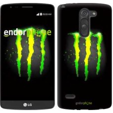 Чехол для LG G3 Stylus D690 Monster energy 821m-89