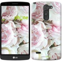 Чехол для LG G3 Stylus D690 Пионы v2 2706m-89