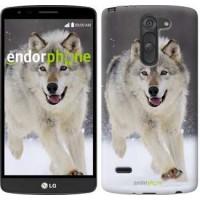 Чехол для LG G3 Stylus D690 Бегущий волк 826m-89