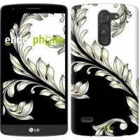 Чехол для LG G3 Stylus D690 White and black 1 2805m-89
