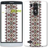 Чехол для LG G3s D724 Вышиванка 22 590m-93