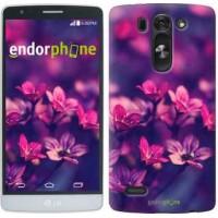 Чехол для LG G3s D724 Пурпурные цветы 2719m-93