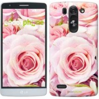 Чехол для LG G3s D724 Розы 525m-93