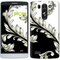 Чехол для LG G3s D724 White and black 1 2805m-93