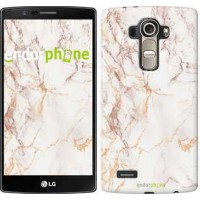 Чехол для LG G4 H815 Белый мрамор 3847u-118