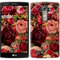 Чехол для LG G4 H815 Цветущие розы 2701u-118