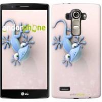 Чехол для LG G4 H815 Гекончик 1094u-118