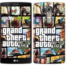 Чехол для LG G4 H815 GTA 5. Collage 630u-118