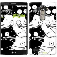 Чехол для LG G4 H815 Коты v2 3565u-118