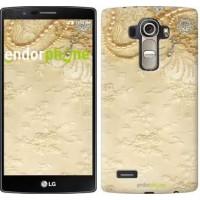 Чехол для LG G4 H815 Кружевной орнамент 2160u-118