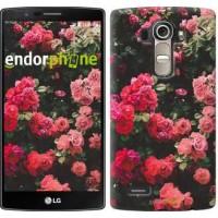 Чехол для LG G4 H815 Куст с розами 2729u-118
