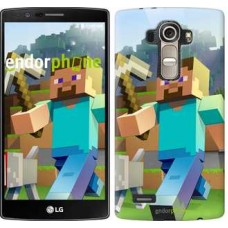 Чехол для LG G4 H815 Minecraft 4 2944u-118