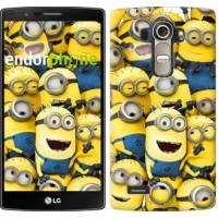 Чехол для LG G4 H815 Миньоны 8 860u-118