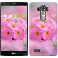 Чехол для LG G4 H815 Розовая примула 508u-118