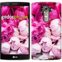 Чехол для LG G4 H815 Розовые пионы 2747u-118