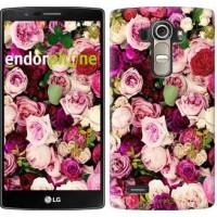 Чехол для LG G4 H815 Розы и пионы 2875u-118