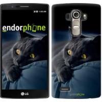Чехол для LG G4 H815 Дымчатый кот 825u-118