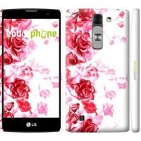 Чехол для LG G4c H522y Нарисованные розы 724m-389