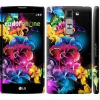 Чехол для LG G4c H522y Абстрактные цветы 511m-389