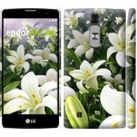 Чехол для LG G4c H522y Белые лилии 2686m-389