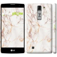 Чехол для LG G4c H522y Белый мрамор 3847m-389
