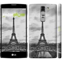 Чехол для LG G4c H522y Чёрно-белая Эйфелева башня 842m-389